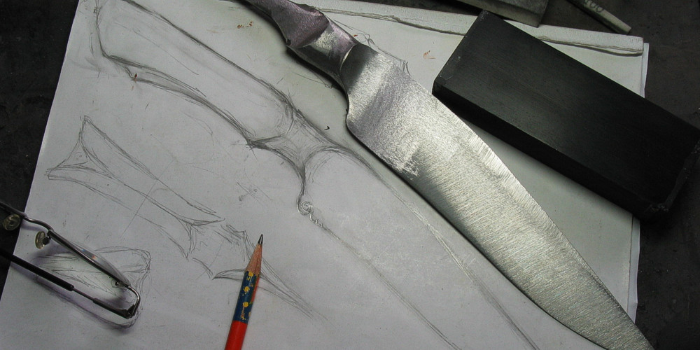 Wieland, der Schmied | From drawing to finished knife